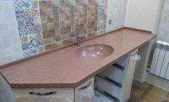 Скос для столешницы в ванной