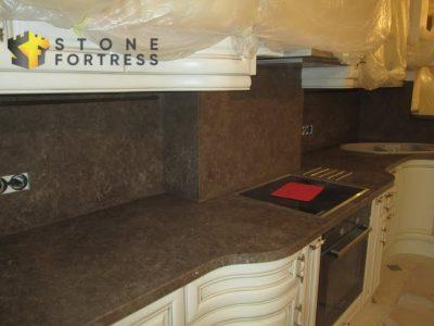 столешница для кухни, стеновая панель и барная стойка (остров) из искусственного камня NeoMarm NM108
